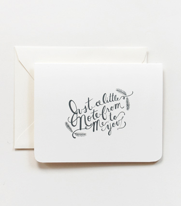 Just-A-Little-Note...-Card
